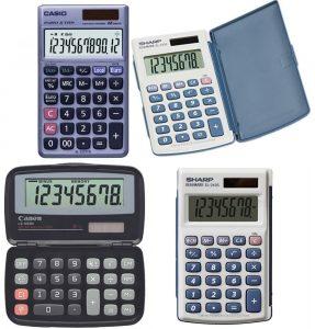 ماشین حساب های جیبی